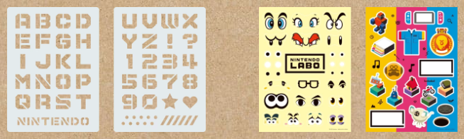 Nintendo Labo Customisation Set Components