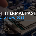 Best Thermal Pastes 2018