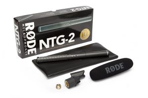 Rode NTG2 Condenser Shotgun Gaming Microphone