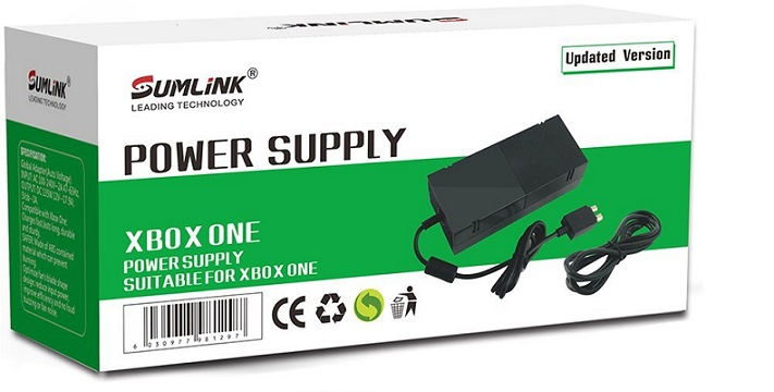 Sumlink Xbox One Power Supply