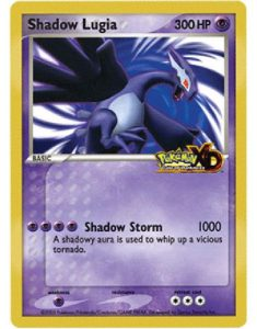Shadow Lugia Pokemon Card